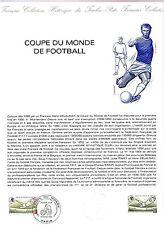 2209+  DOCUMENT OFFICIEL 1992  COUPE DU MONDE DE FOOTBALL