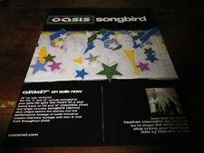 OASIS - Publicité de magazine / Advert !!! SONGBIRD !!! UK
