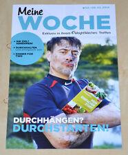 Weight Watchers Meine Woche 2.2 - 8.2 ProPoints Plan 2014 Wochenbroschüre *NEU*