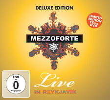 CD DVD Mezzoforte Live In Reykjavik Deluxe Edition 2CDs y DVD