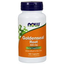 Goldenseal Root (500mg) - 100 Caps - NOW