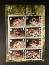 Montserrat - 2006 WWF Mountain Chicken Frogs - Sheet of 8 - MNH