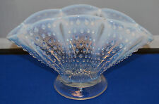 "Fenton French Opalescent Fan Vase - 5"" X 8 3/4"" -  Very Nice"