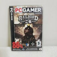 PC Gamer Presents Railroad Tycoon 3 PC CD-ROM Game 2003