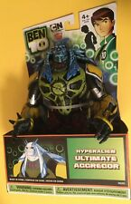 ULTIMATE AGGREGOR Hyperalien figure BEN 10 NEW IN BOX 7 inches tall Omniverse