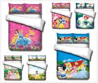 3D Disney Princess Sofia Bedding Set Duvet Cover Pillowcase Comforter Cover Set