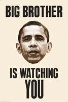 Big Brother Is Watching You Barack Obama Poster 24x36