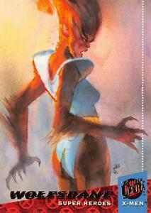 WOLFSBANE/ X-Men Fleer Ultra 1994 BASE Trading Card #33
