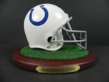 Indianapolis Colts Replica Helmet On Base,Nfl Football Poly Helmet,New,550 Size