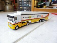Truck Renault F1 Team Ing Carrier Newray 1/87 F1 Formula 1 Rare