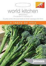 Johnsons Seeds Broccoli Tenderstem Inspiration F1 Seed