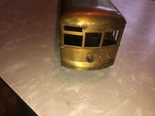 O SCALE BRASS TROLLEY BODY UNPOWERED, EXC.