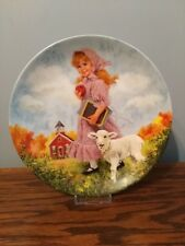 1985 'Mary Had a Little Lamb' Reco Collector's Plate, Free Shipping!