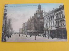 Queen Street Auckland showing Victoria Arcade New Zealand Postcard