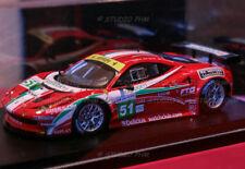 FERRARI F 458 GTC N°51 AF CORSE 13° 24H du MANS 2011 TSM FUJIMI 1:43 No Spark