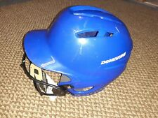 DeMarini Batting Helmet Blue with Mask NEW w/tags size S/M