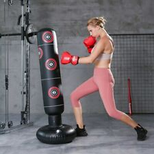 Inflatable Boxing Bag Training Pressure Relief Exercise Water Base Punching Stan