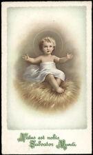 "santino-holy card""""ediz. NB serie N  n.60 GESU' BAMBINO"