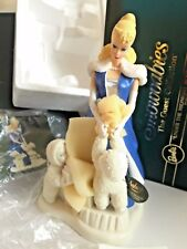 Under The Midnight Moon With BARBIE Department 56 Snowbabies - NIB Porcelain