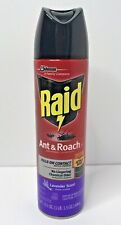 Raid Ant and Roach Killer Bug Spray Indoor Defense System Lavender Scent 17.5 Oz