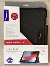 Targus Pro-Tek Rotating Case for 11-in. iPad Pro  2nd Gen (Black) -THZ743GL  T01