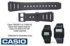 Genuine Casio Watch Strap Band CA-53W CA-61W FT-100W W-520U W-720 W720MV W720G