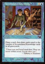 4x Accumulated Knowledge / Gesammeltes Wissen - Nemesis - Magic - EX-PL - ENG
