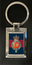 The Household Cavalry - high polished metal keyring