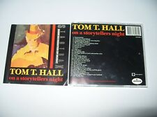 TOM T. HALL On A Storyteller's Night 27 Track cd 1990 VG/EX