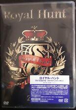 Royal Hunt 2016 Live 25th Anniversary Japan Dvd Still Sealed OBI Title Stripe