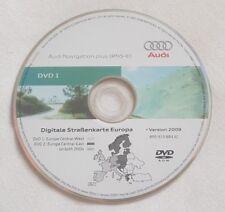 ORIGINALE AUDI RNS-E 2004-2009 Disco di navigazione DVD NAVIGATORE SATELLITARE MAPPA + software 0650