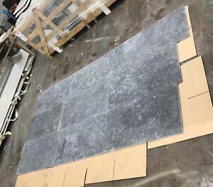 1 CRATE / 20m2 Milly GREY Honed Limestone Floor Tiles 457mm x free length Format