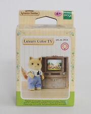 Sylvanian Families Luxus-Farbfernseher (ohne Batterien 2xAAA Micro) (2924)
