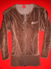 ♥ ESPRIT ♥ HOODY SWEATJACKE HOMEWEAR WELLNESS SAMT BLOGGER Gr. S M 36 38 TOP!!!