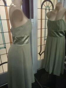 After Six Dress Size 10 . Formal / Wedding BNWT  kiwi green colour  (#092)