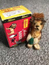 Schuco Noahs Ark Squirrel Miniature Mohair Chenille Vtg Nice In Box Nr