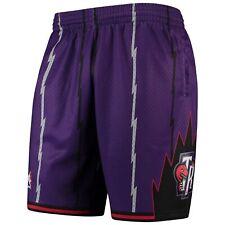 Toronto Raptors Mitchell & Ness Hardwood Classics Team Swingman Shorts - Purple