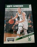 Donte Divincenzo PLAYOFF RC 2018 19 CHRONICLES MILWAUKEE BUCKS ROOKIE