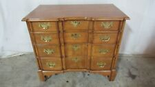 Harden York Collection Curly Maple Bachelors Chest Dresser