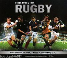 Beau livre/coffret  neuf sous blister - L'histoire du rugby  - Richard Bath