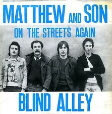 Blind Alley 45 On the Streets Again - Killer Mod Power Pop - HEAR