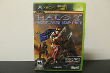 Halo 2 Multiplayer Map Pack  (Xbox, 2005) *Tested/Complete