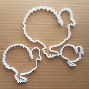 Turkey Poultry Christmas Xmas Shape Cookie Cutter Animal Biscuit Pastry Stencil