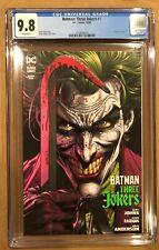 BATMAN: THREE JOKERS # 1 CGC 9.8! (10/20).