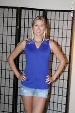 Eastbay sleeveless women's volleyball jersey - Blue - Small