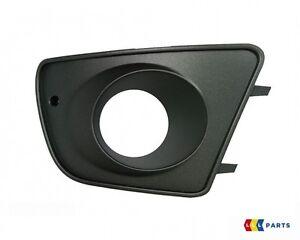 NEW GENUINE SEAT IBIZA CUPRA 02-10 FRONT BUMPER RIGHT O/S FOG LIGHT GRILL BLACK