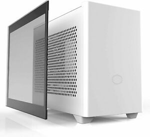 Cooler Master NR200P White SFF Small Form Factor Mini-ITX Case w/ Tempered Glass