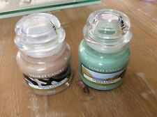 Yankee candle small jars x 2 new