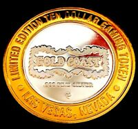 .999 $10 Silver Strike•Gold Coast Casino•Vegas • Slot Machine, Medium/Small Font
