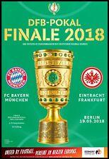 Programm & Aufstellung DFB Pokal Finale 2018 Bayern München Eintracht Frankfurt